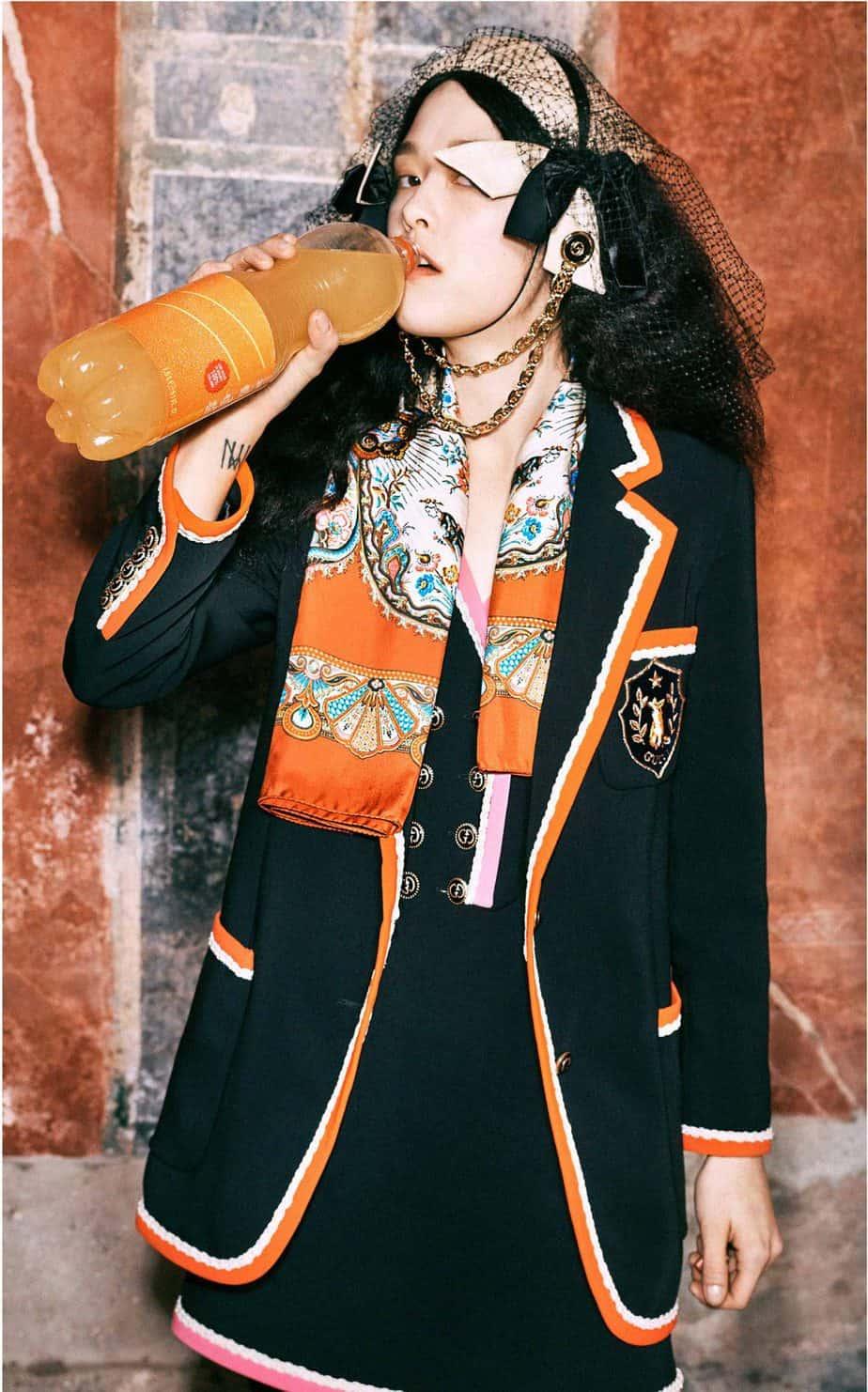 GUCCI, FALL 2019. WOMEN'S FASHION, Photographer Harmony Korine, Art Director, Christopher Simmonds - 96