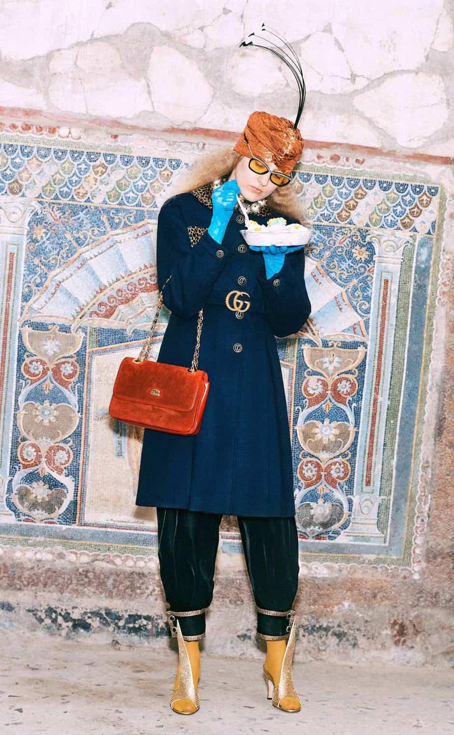 GUCCI, FALL 2019. WOMEN'S FASHION, Photographer Harmony Korine, Art Director, Christopher Simmonds - 99