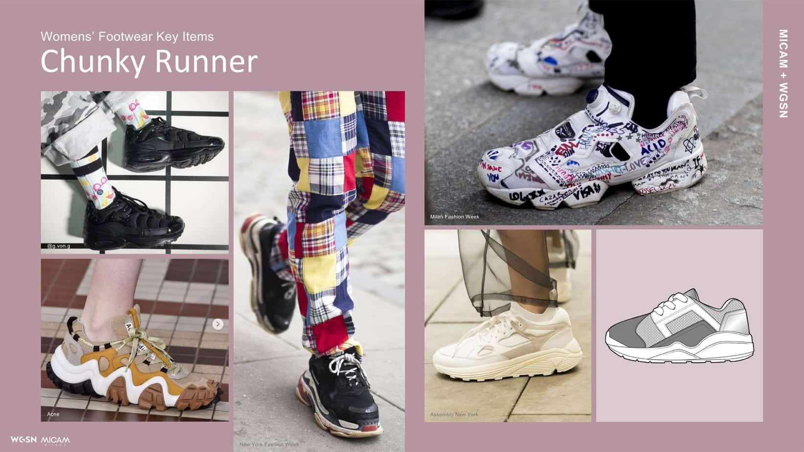 Womens' Footwear Key Items Chunky Runner