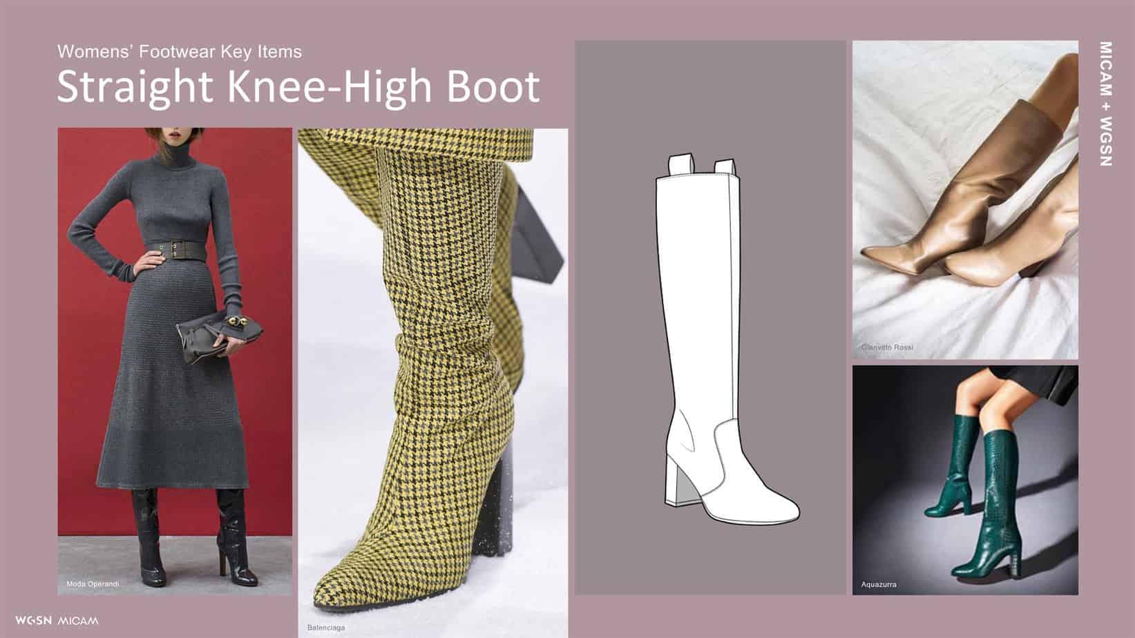 Womens' Footwear Key Items Straight Knee-High Boot