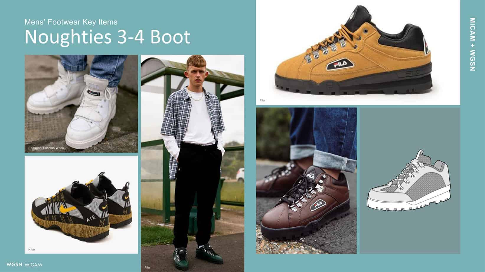Mens' Footwear Key Items Noughties 3-4 Boot