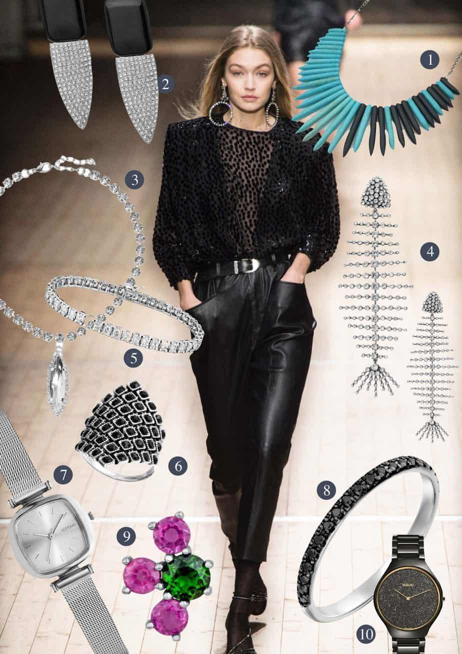 bling bling - Sylvester 2018 jewelry