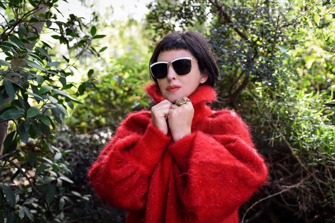 לארה רוסנובסקי, מעצבת אופנה, צילום לימור יערי - 3