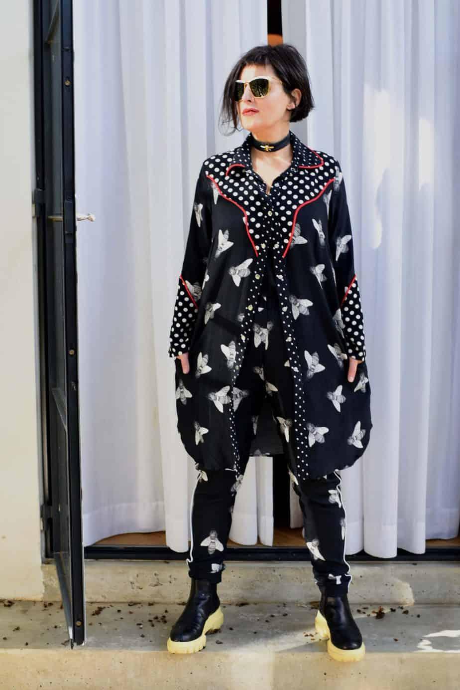 לארה רוסנובסקי, מעצבת אופנה, צילום לימור יערי - 355