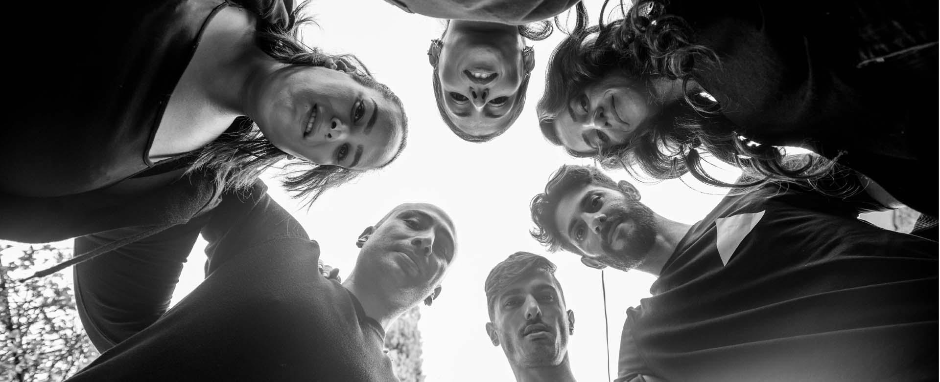 אוראל מולול,שיר ומלי אלקיים, ישראל קלר,ערן אלגרבלי, מאיר אזולאי, ערן ויצמן, צילום מני פל - 1