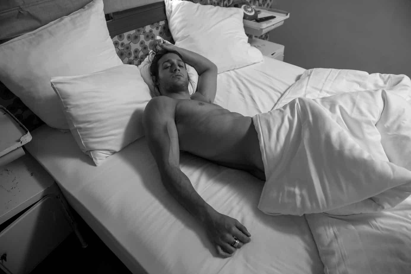 אסף גורן האח הגדול, אסף גורן בעירום, צילום מני פל - 9