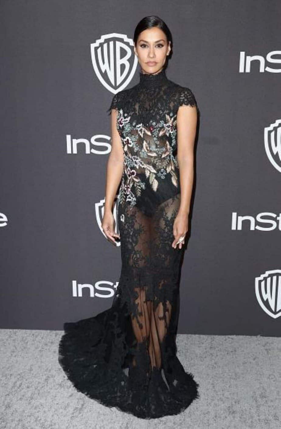 ג'נינה גוונקאר לובשת ברטה. צילום: יח״צ חו״ל