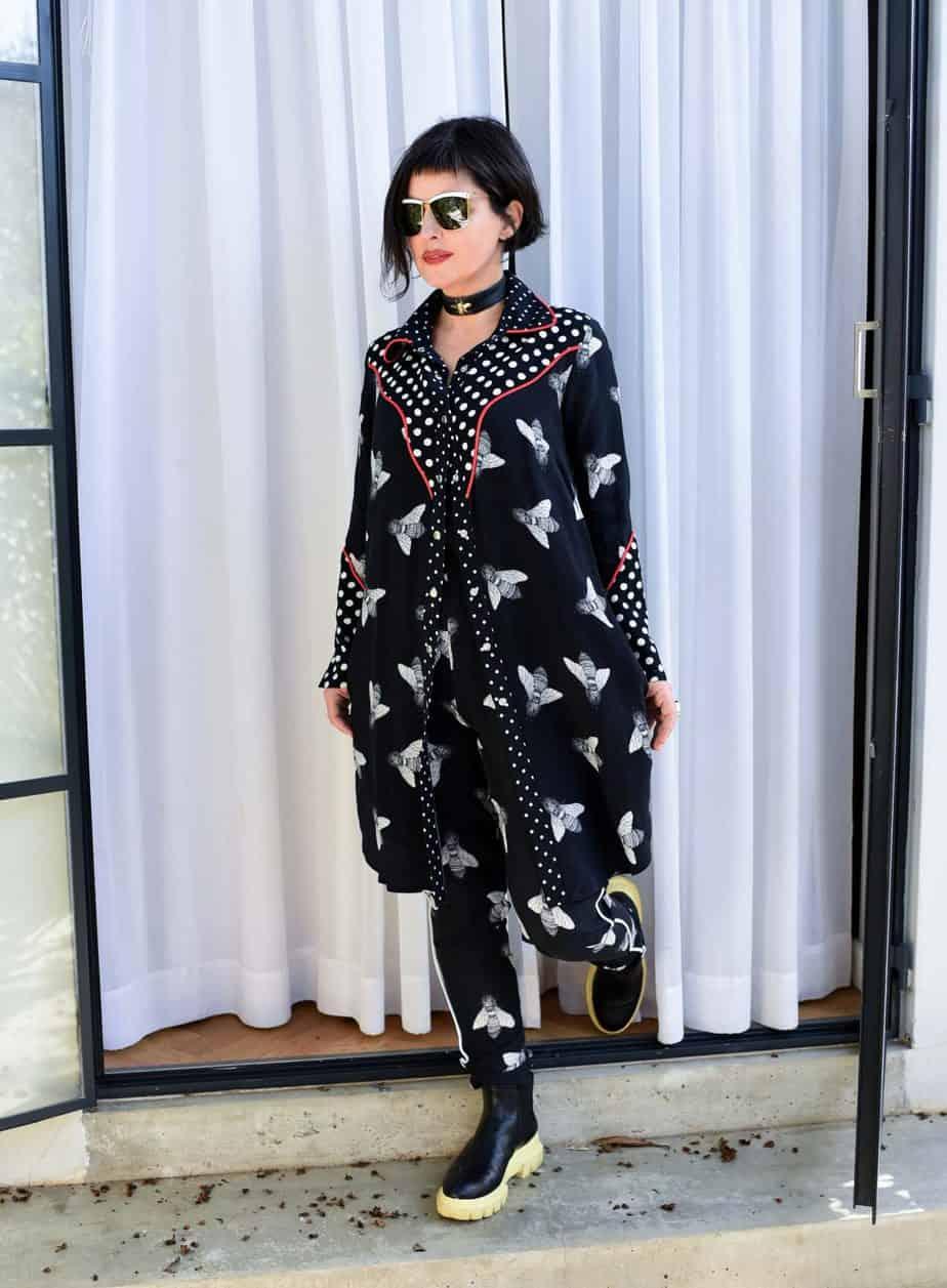 לארה רוסנובסקי, מעצבת אופנה, צילום לימור יערי - 3098