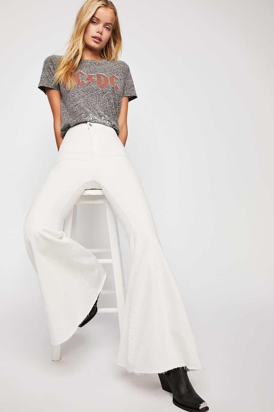 Free People. מחיר ג'ינס 379.90שח צילום יחצ חול