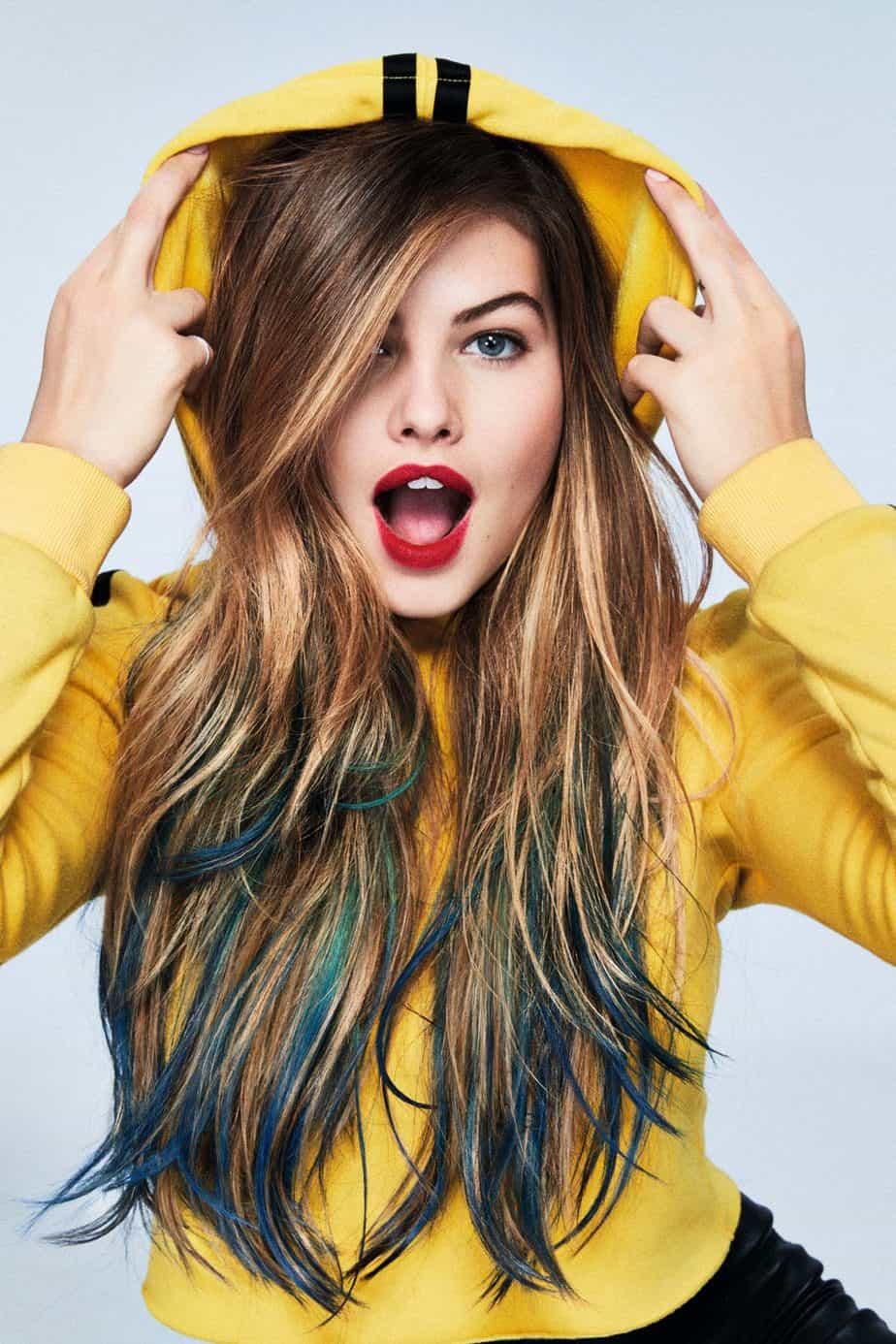איפור לשיער ליום אחד, איפור שיער לפורים, COLORISTA Hair Makeup By L'OREAL PARIS, קולוריסטה ג'ל לשיער לוריאל פריז - 1 3