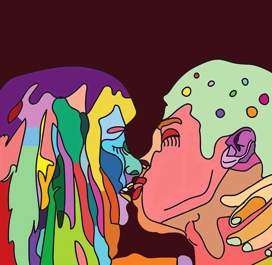 אירוע LOVE BOAT באברקסס ציור של 8PHASES
