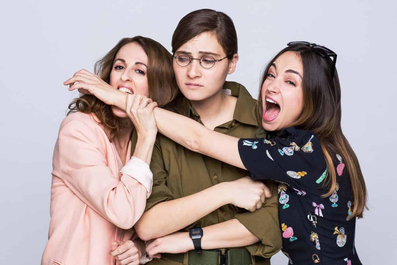 נלי תגר, טס השילוני, דנה סמו. ״האחיות המוצלחות שלי״. צילום אוהד רומנו - 1