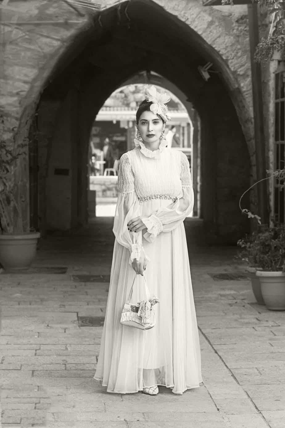 שמלה: ביאטריס מיורק.מאיה אושרי כהן, צילום: Gennadiy Tsodik