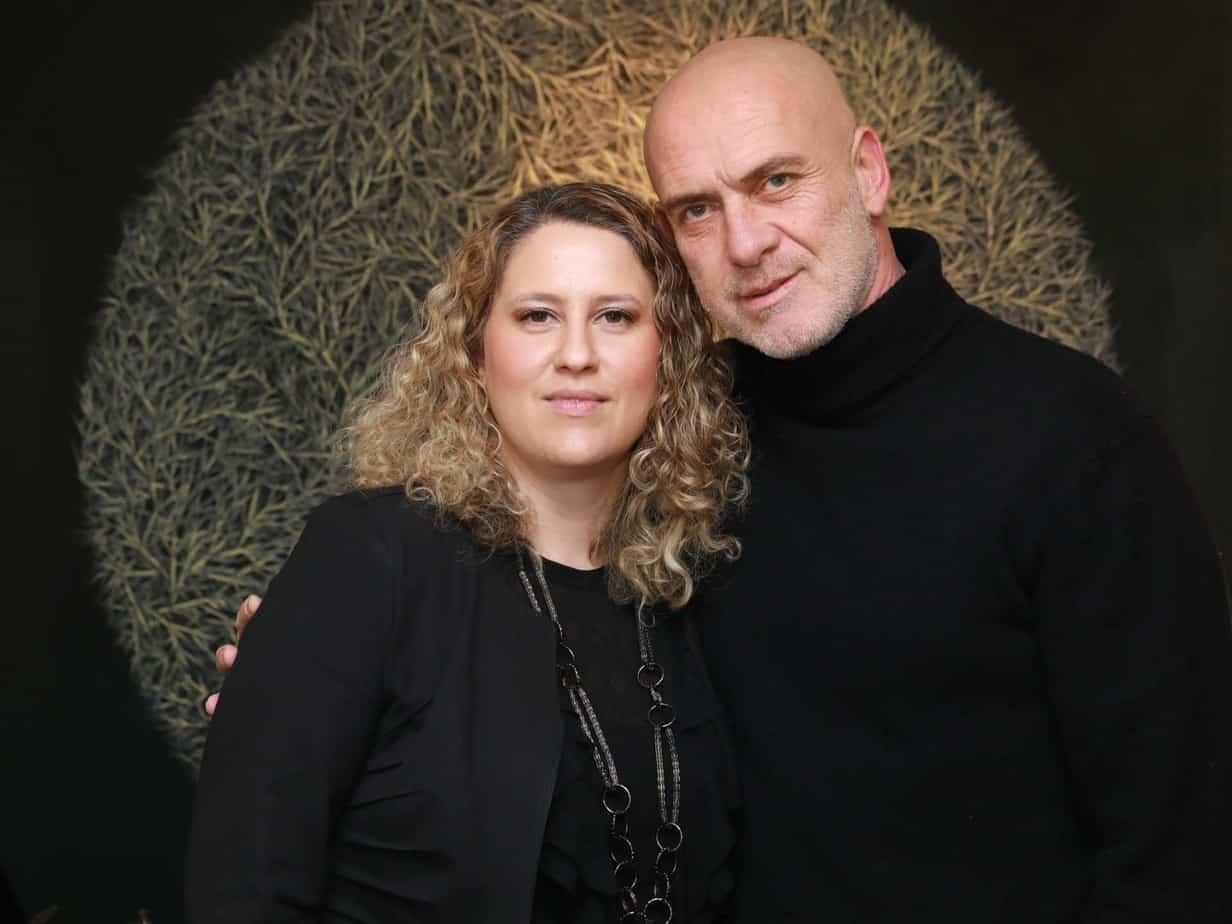 מוטי רייפ ונעמה קאופמן-פס שבוע האופנה תל אביב 2019. צילום: לנס הפקות