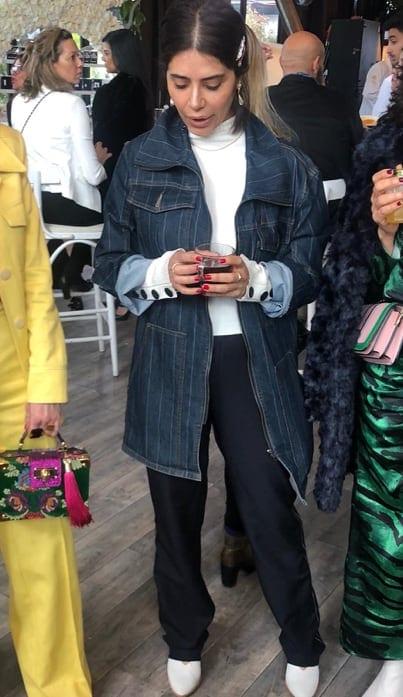 חליפה של דורון אשכנזי. מרוות חכרוש, שבוע אופנה לכלות 2019
