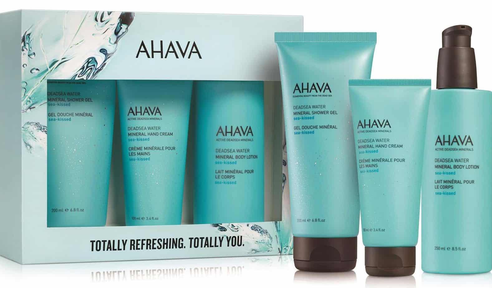 Kit Totally Refreshing. Totally מארז טיפוח לוולנטיין מבית AHAVA מחיר 129 שח צילום מוטי פישביין