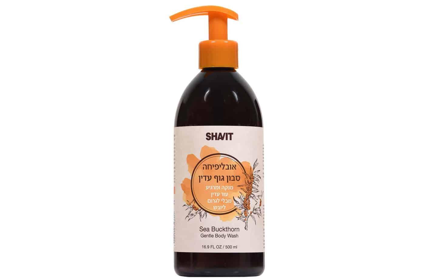 SHAVIT סבון גוף עדין מחיר 49.90 שח ל500 מל צילום אפרת אשל