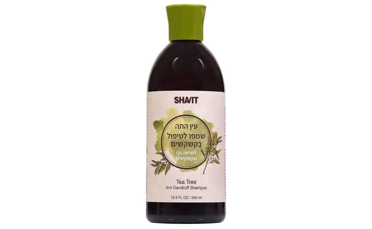 SHAVIT שמפו עץ התה מחיר 57.50 שח ל500 מל צילום אפרת אשל