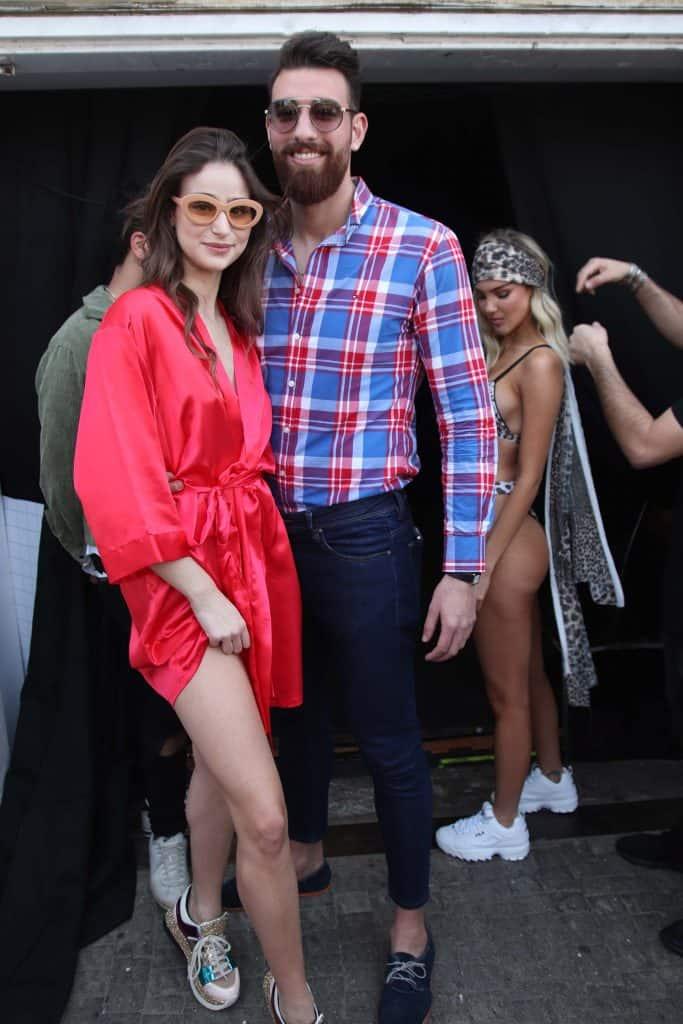 בני_אלשיר_ורומי_נסט. רינקיני. שבוע האופנה תל אביב 2019. צילום: אור גפן