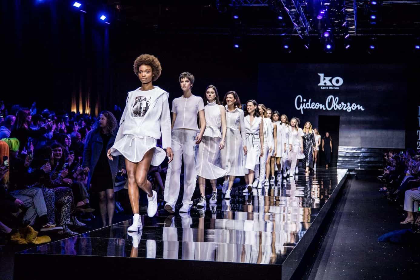 גדעון אוברזון, שבוע האופנה תל אביב 2019, צילום אלכס פרגמנט - 1