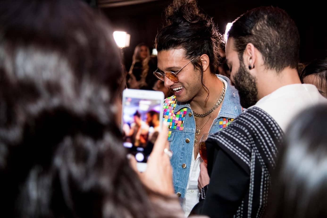 אסף גורן. מסמר הערב. שבוע האופנה תל אביב 2019. צילום: אלכס פרגמנט