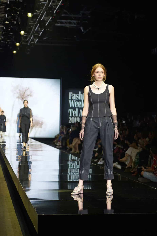 דורין פרנקפורט. שבוע האופנה תל אביב 2019. צילום סרג'ו סטרודובצב - 11