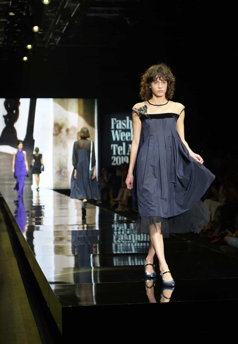 דורין פרנקפורט. שבוע האופנה תל אביב 2019. צילום סרג'ו סטרודובצב - 13