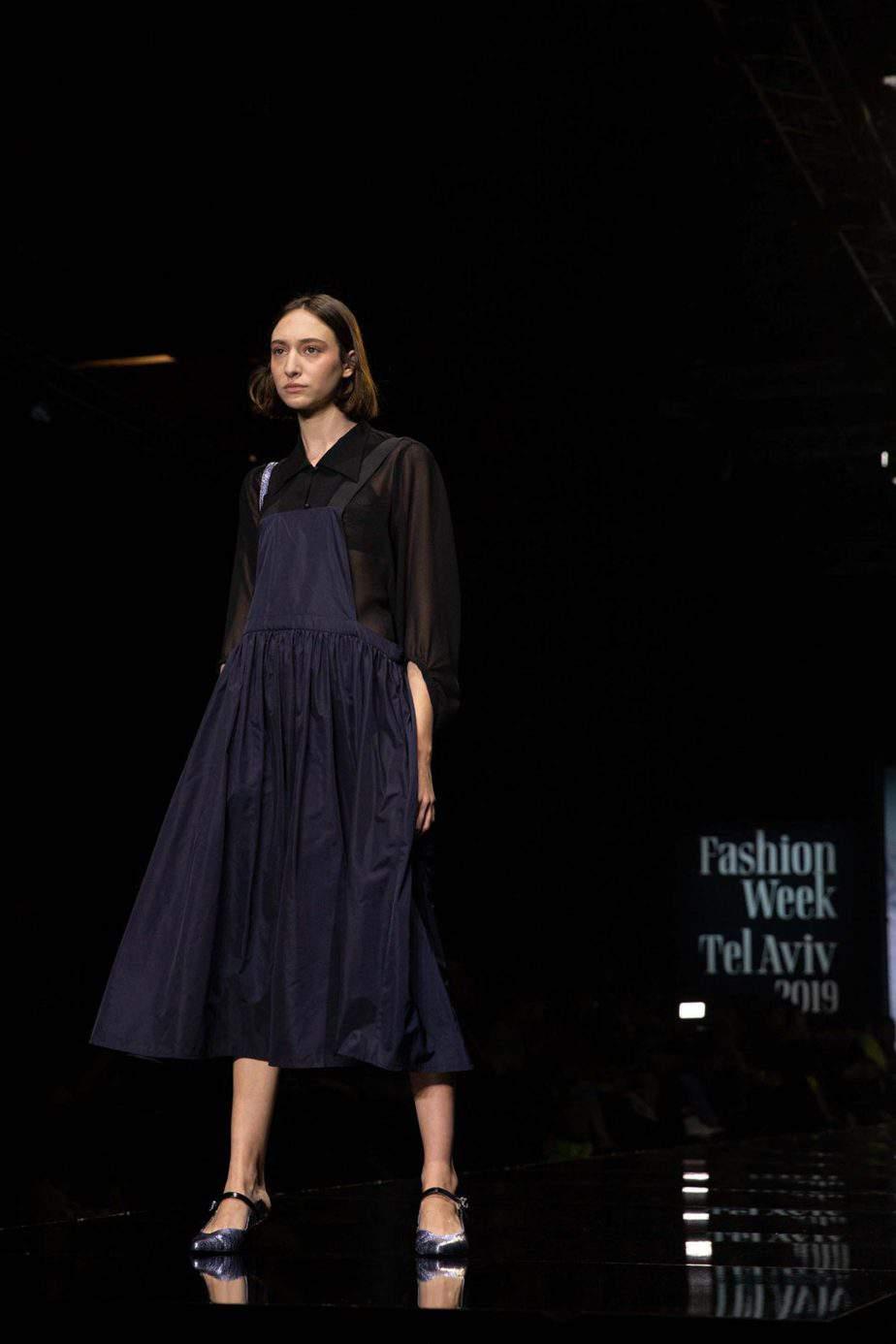 דורין פרקפורט. שבוע האופנה תל אביב 2019. צילום עומר קפלן -12
