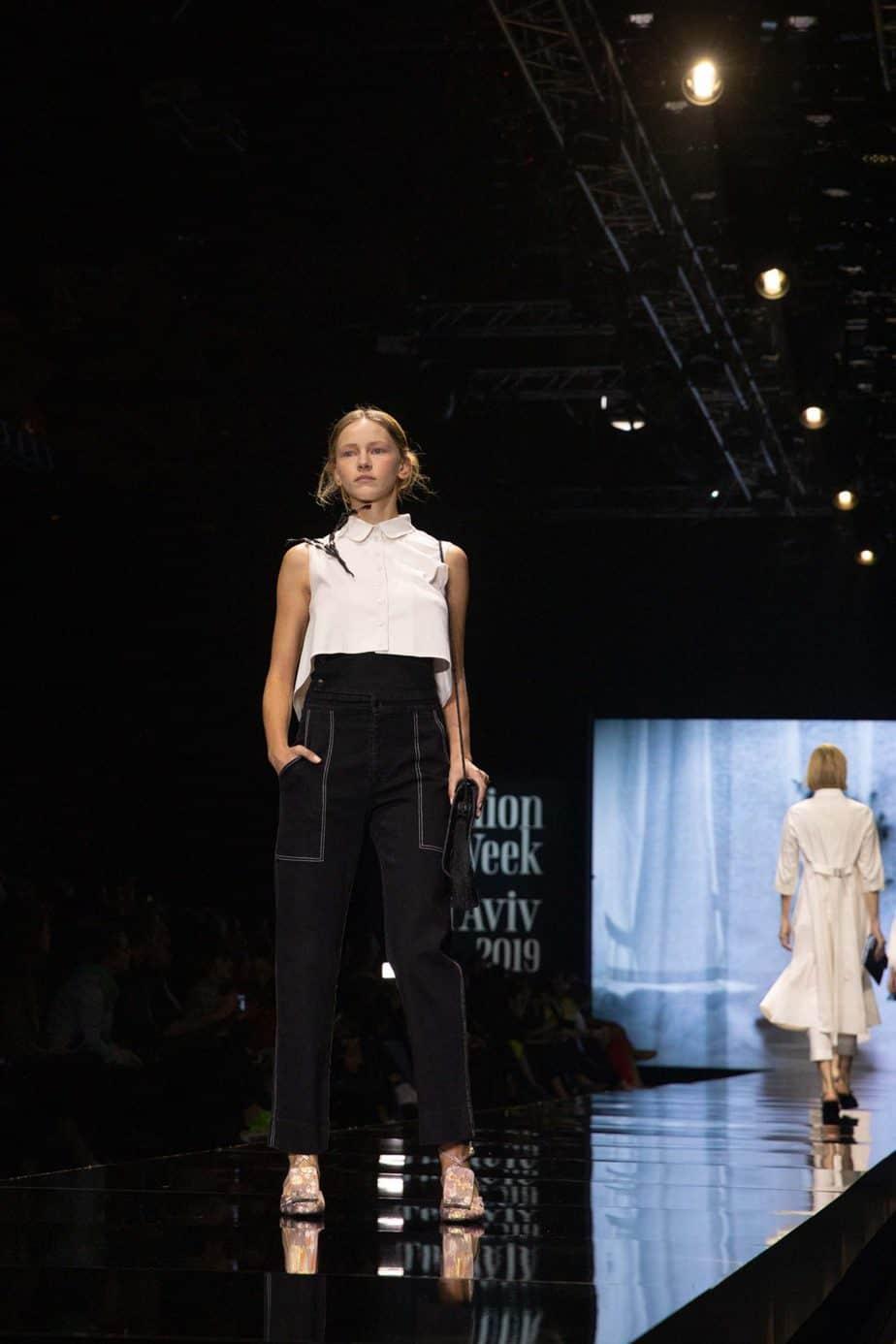 דורין פרקפורט. שבוע האופנה תל אביב 2019. צילום עומר קפלן -7
