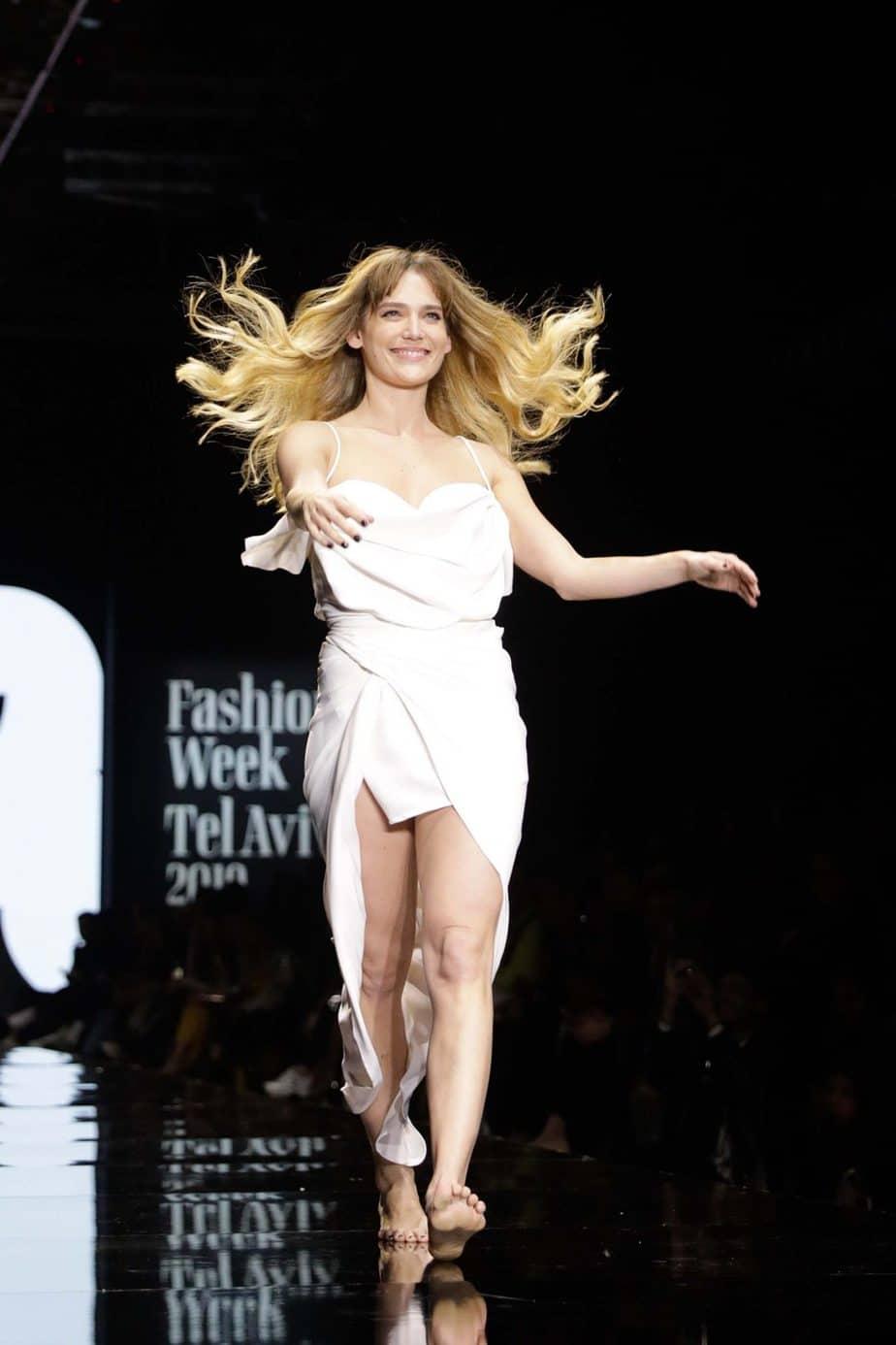 דנה פרידר, קולקציה עידן לרוס, תצוגת אופנה עידן לרוס שבוע האופנה תל אביב 2019, צילום עומר קפלן - 10