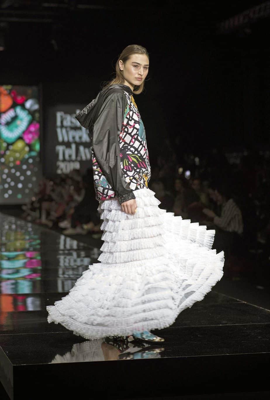 לארה רוסנובסקי, שבוע האופנה תל אביב 2019, צילום סרג'ו סטרודובצב - 15