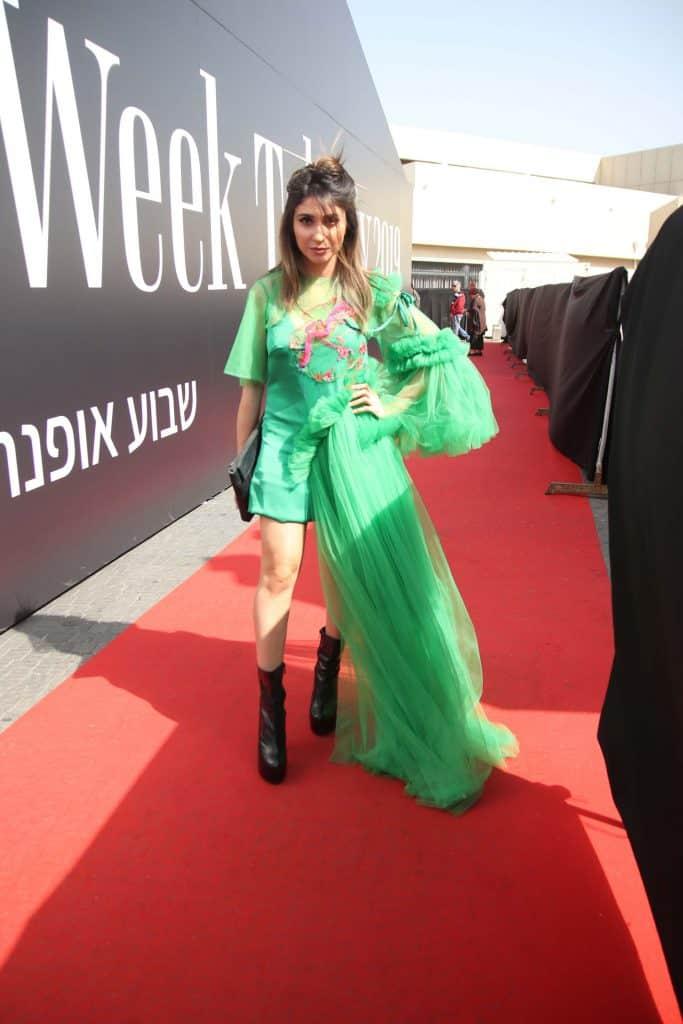 לינה מחול. רינקיני. שבוע האופנה תל אביב 2019. צילום: אור גפן