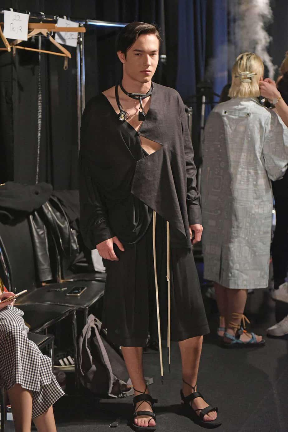 שורש. שבוע האופנה תל אביב 2019, צילום סרגו סטרודובצב - 1