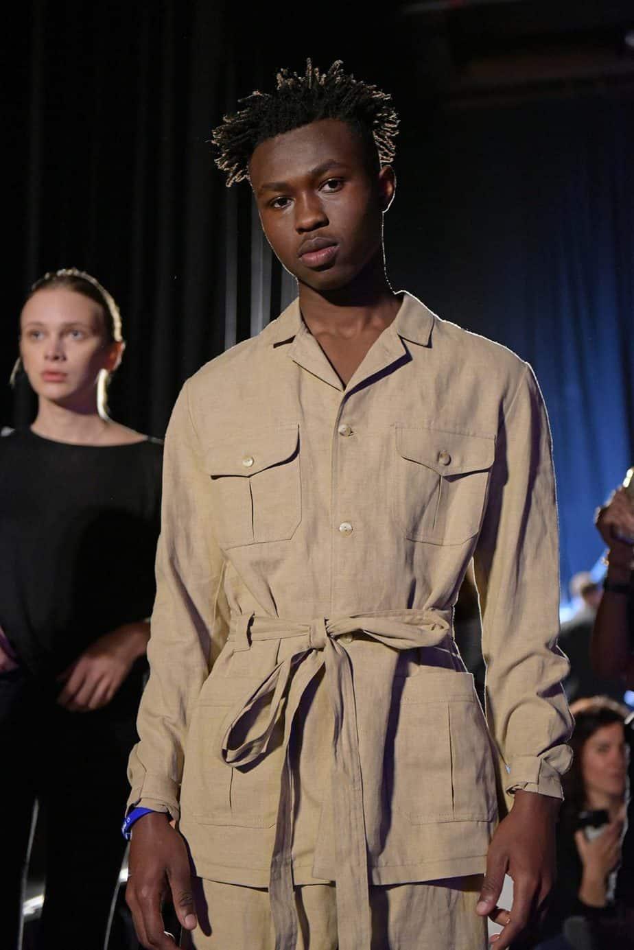 שורש. שבוע האופנה תל אביב 2019, צילום סרגו סטרודובצב - 2