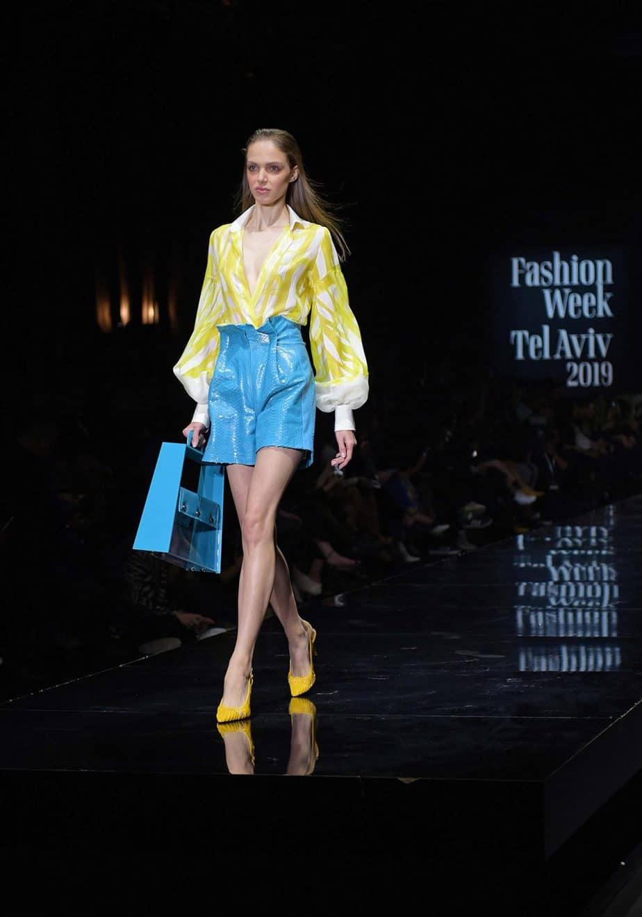 שי שלום. שבוע האופנה תל אביב 2019. צילום סרג'ו סטרודובצב - 6