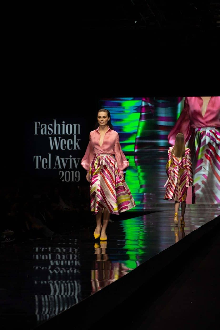 שי שלום. שבוע האופנה תל אביב 2019. צילום עומר קפלן - 2