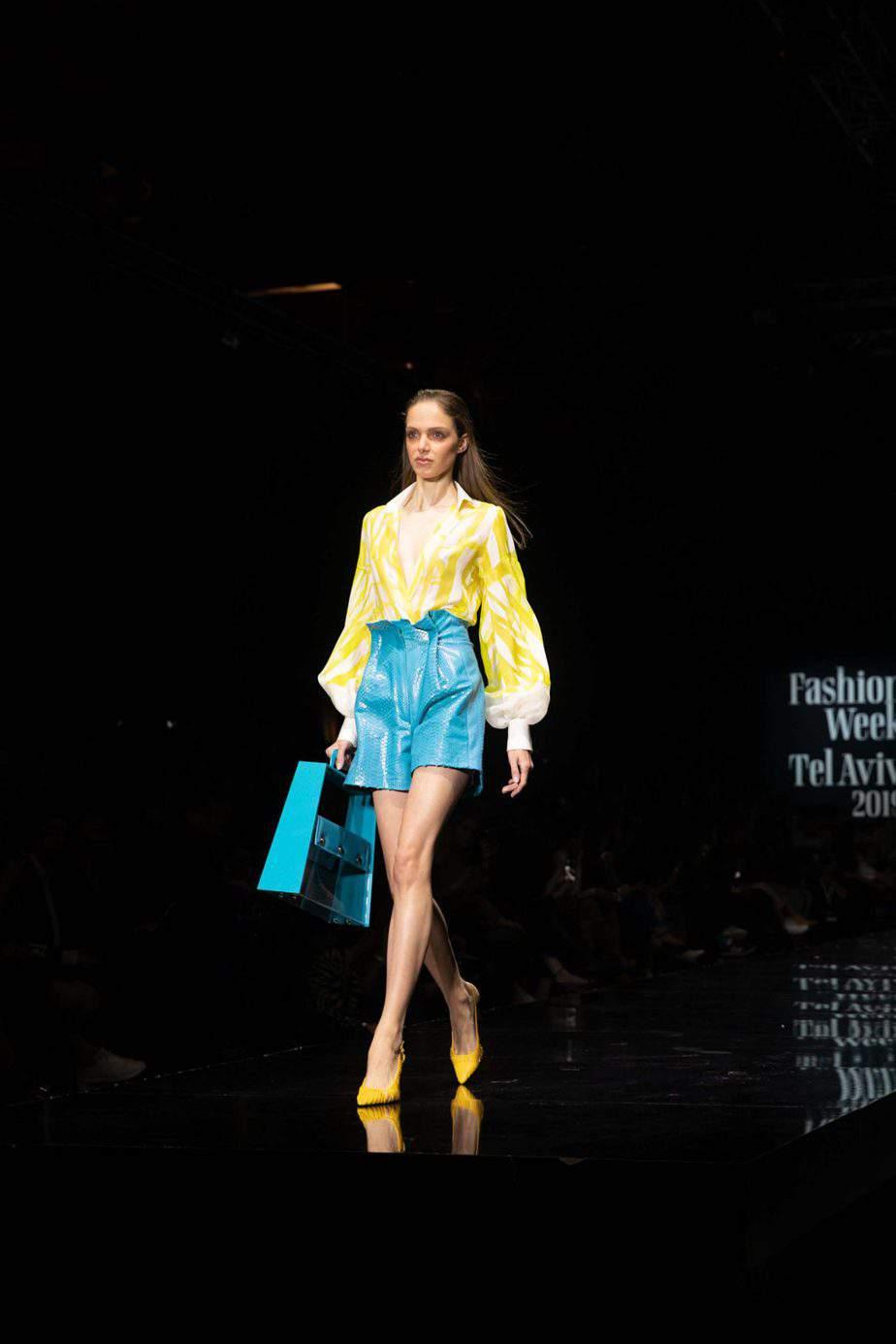 שי שלום. שבוע האופנה תל אביב 2019. צילום: עומר קפלן