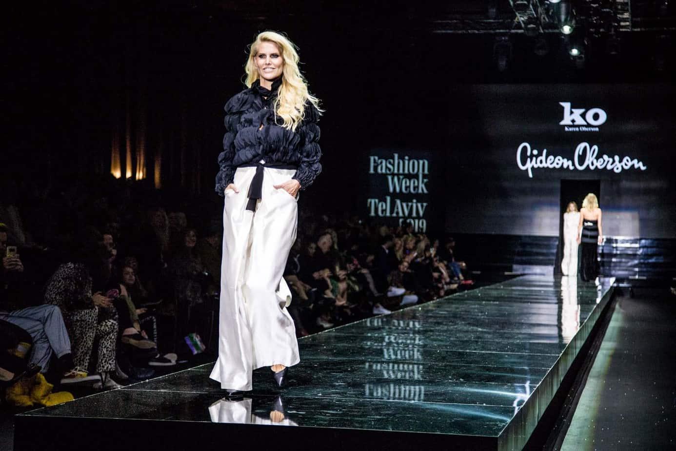 שלי גפני, גדעון אוברזון, שבוע האופנה תל אביב 2019, צילום אלכס פרגמנט
