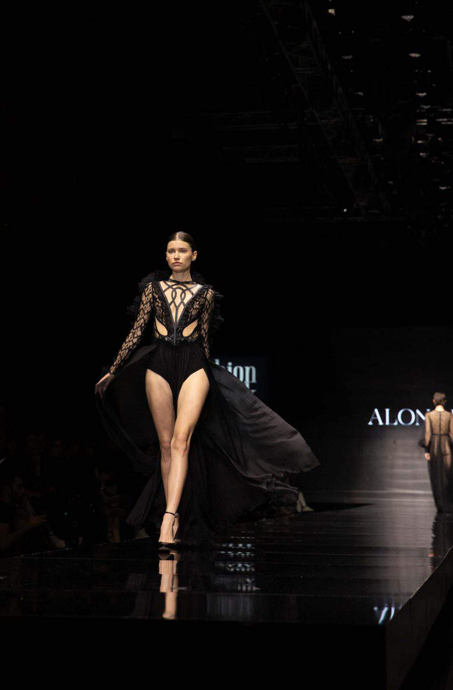 אלון ליבנה. שבוע האופנה תל אביב 2019. צילום עומר קפלן - 1