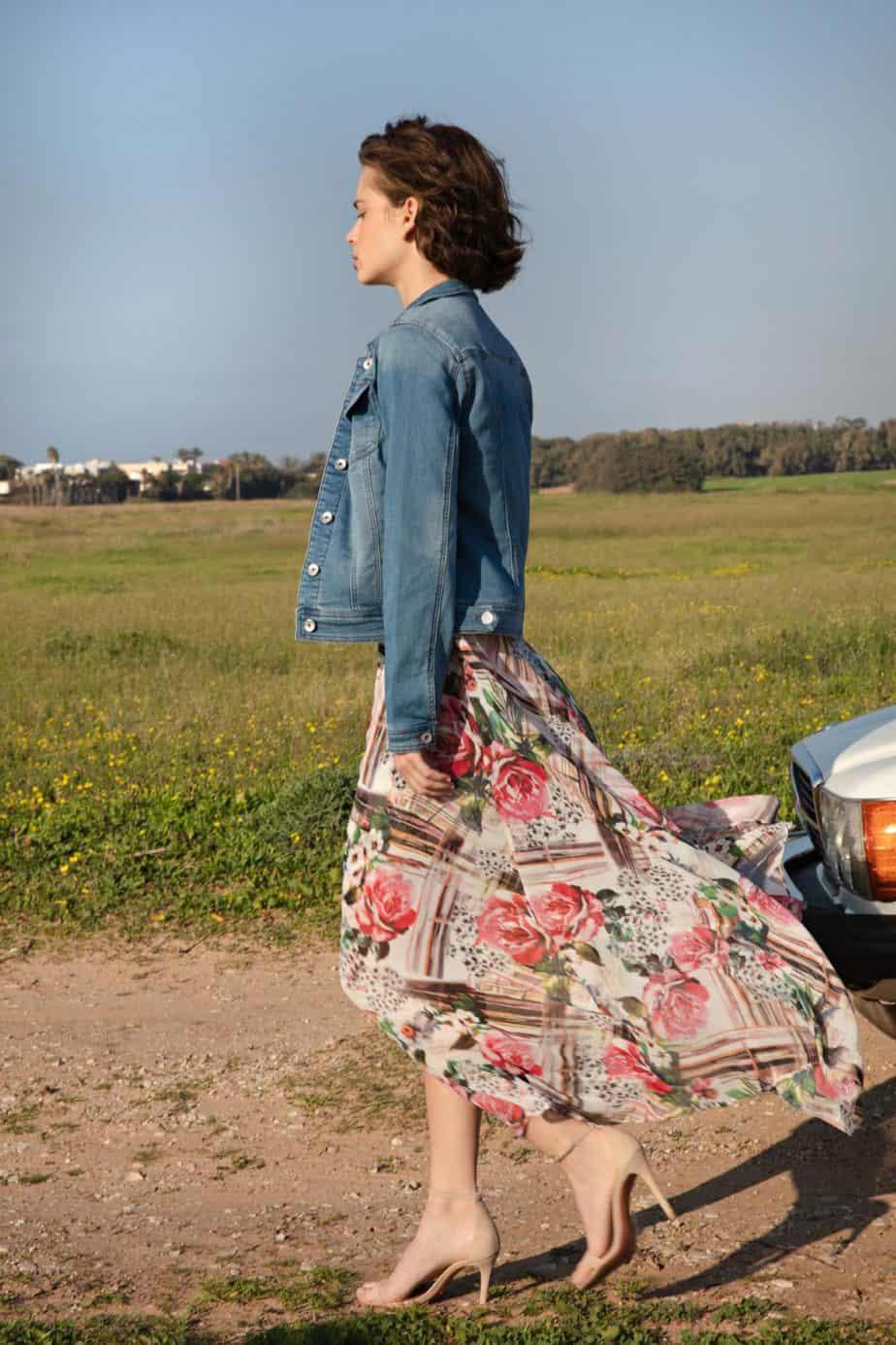 אסתי גינזבורג, גולברי שמלה_399.90_ג'קט_249.90_(1)צילום יניב אדרי (Custom)