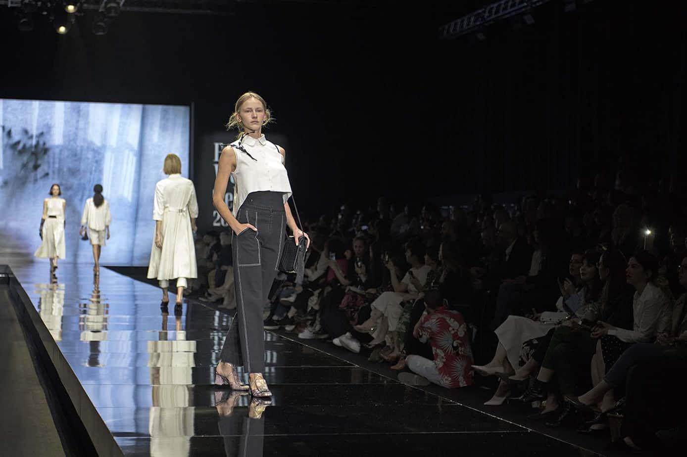 דורין פרנקפורט. שבוע האופנה תל אביב 2019. צילום סרג'ו סטרודובצב - 8