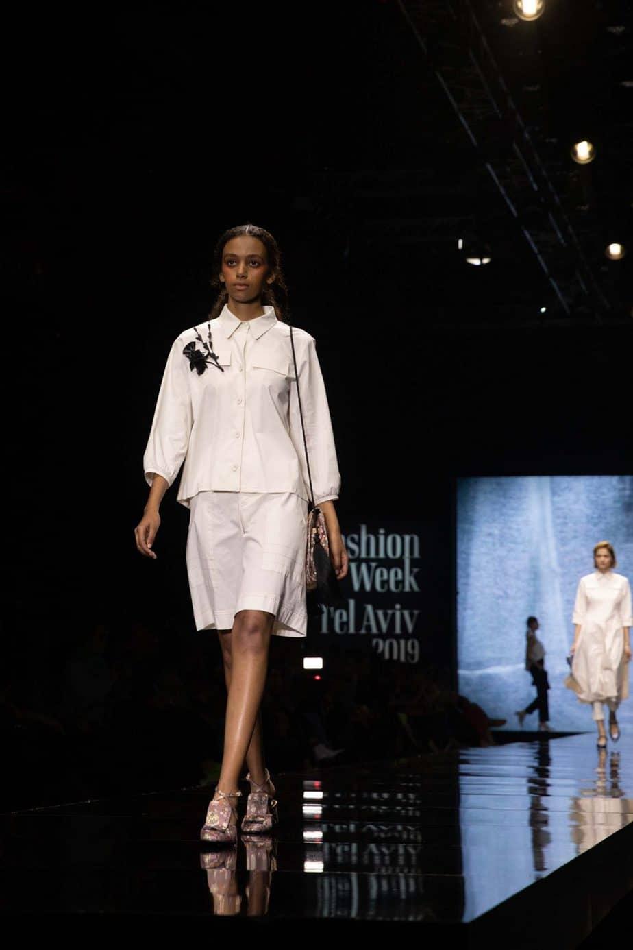 דורין פרקפורט. שבוע האופנה תל אביב 2019. צילום עומר קפלן -6