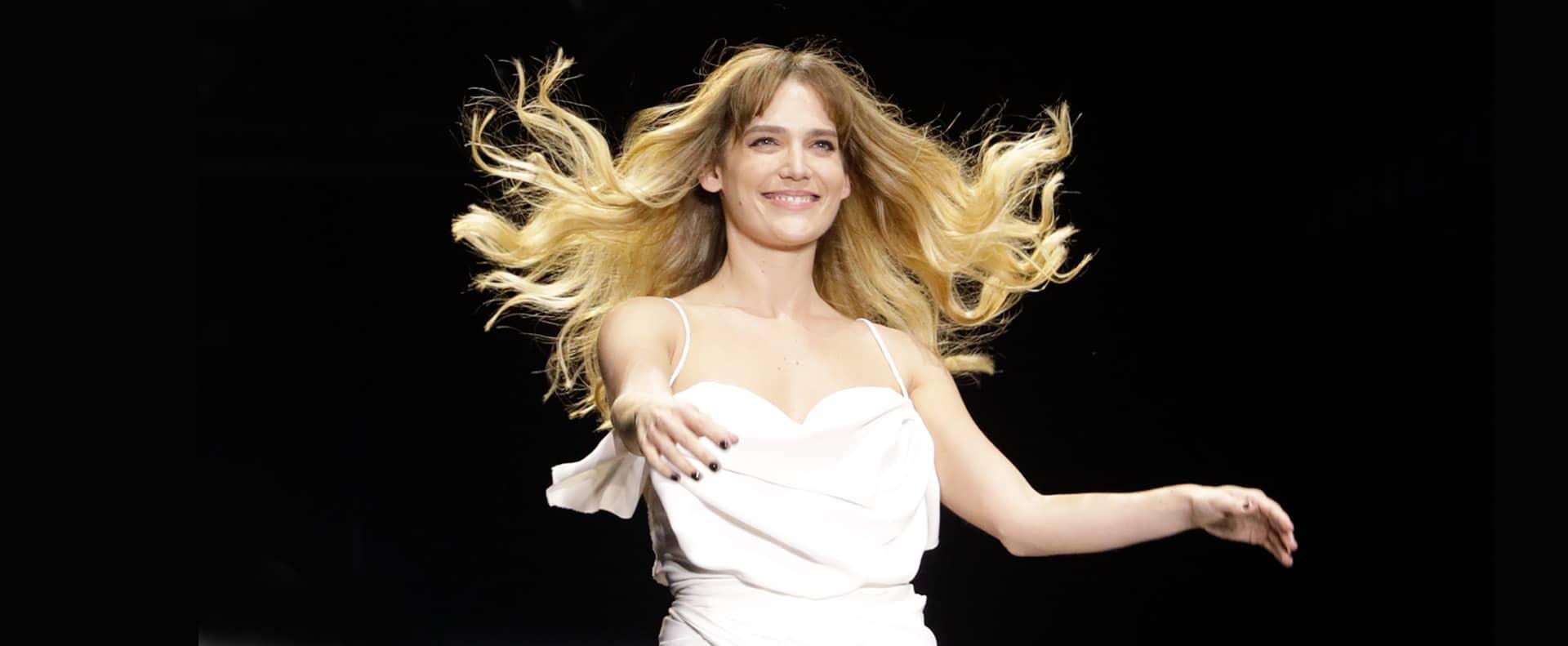 דנה פרידר, קולקציה עידן לרוס, תצוגת אופנה עידן לרוס שבוע האופנה תל אביב 2019, צילום עומר קפלן - 102