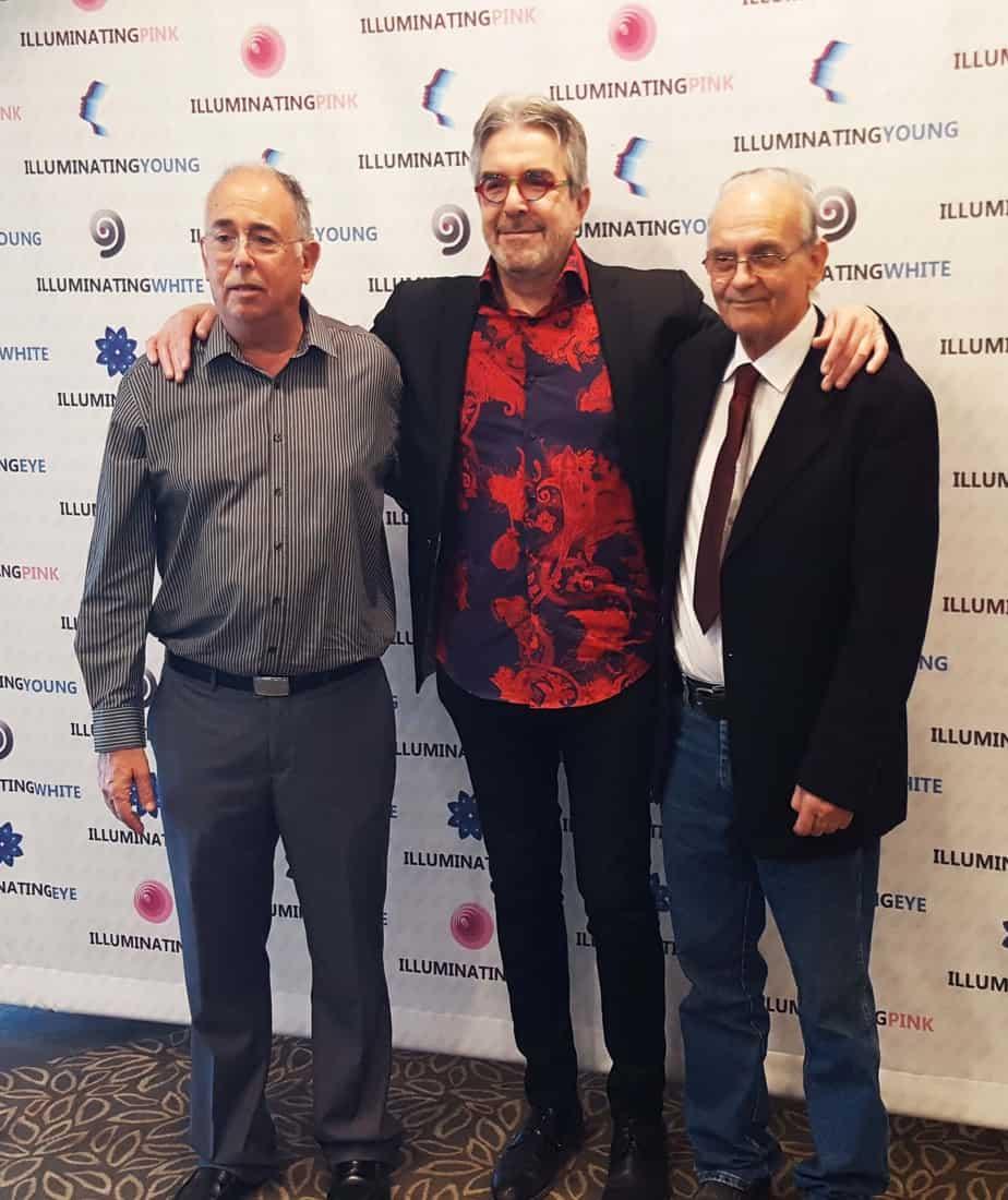 דר יואל קוניס דר' צחי שלקוביץ ופרי עגור קברניטי המותג הבינלאומי אילומינייטינג צילום: אורן יגודה