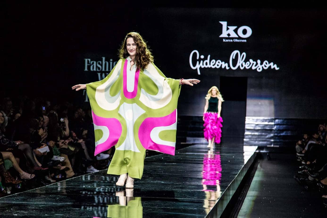 יעל אבקסיס, לגדעון אוברזון, שבוע האופנה תל אביב 2019, צילום אלכס פרגמנט