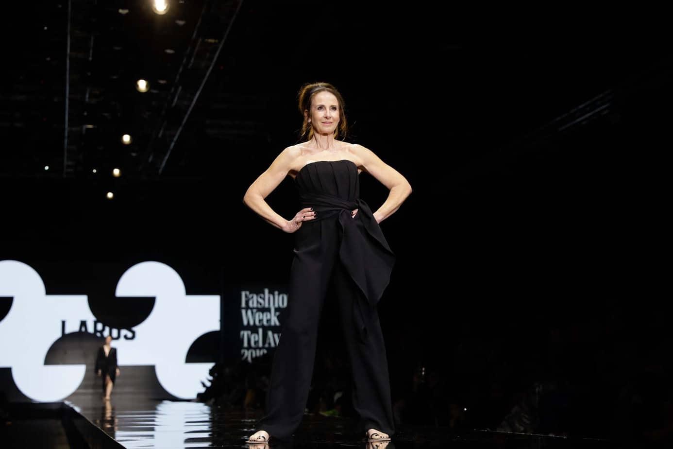לאה שנירר, קולקציה עידן לרוס, תצוגת אופנה עידן לרוס שבוע האופנה תל אביב 2019, צילום עומר קפלן - 8