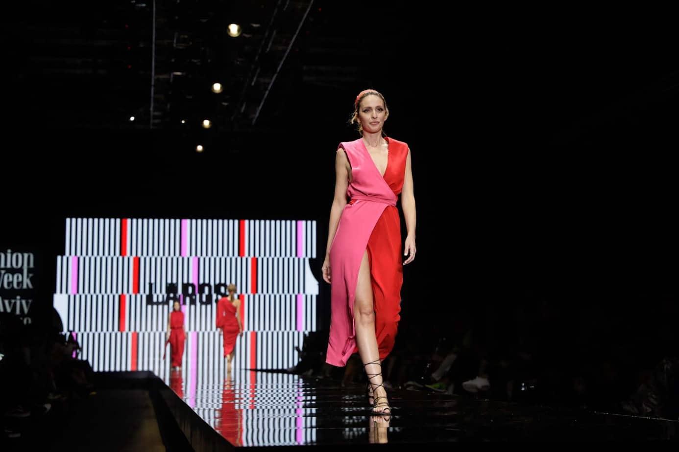 מלי לוי, קולקציה עידן לרוס, תצוגת אופנה עידן לרוס שבוע האופנה תל אביב 2019, צילום עומר קפלן - 6