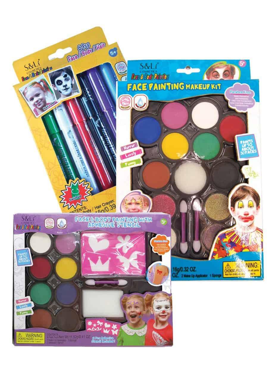 צבעי איפור לילדים של קמיון ברשתות הפארמים