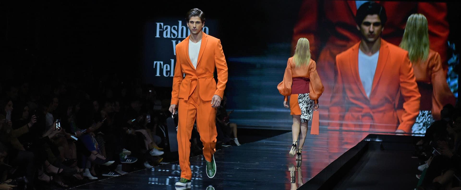 ליעוז הרוש שי שלום. שבוע האופנה תל אביב 2019. צילום סרג'ו סטרודובצב