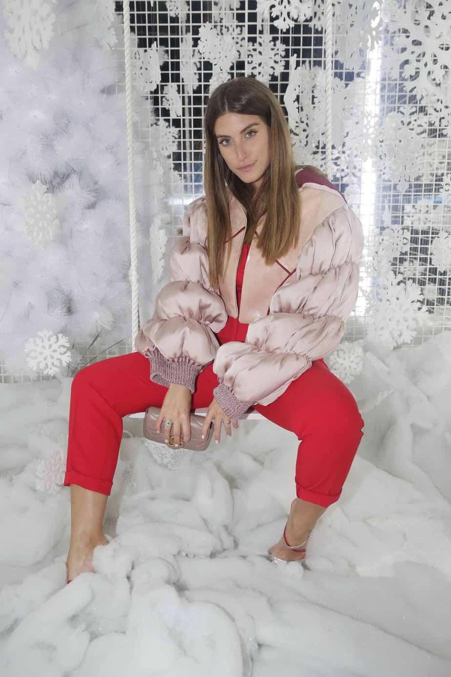 דנה זרמון התאימה את עצמה לשבוע האופנה והפציצה בלוק עם מלא סטייל. צילום: שוקה כהן